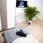 Monteurzimmer K3 Sinsheim - Doppelzimmer - SMART TV in jedem Zimmer