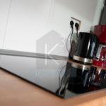Monteurzimmer K3 Sinsheim - hochwertige Marken-Küchenausstattung
