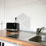Monteurzimmer K3 Sinsheim - Küchen mit Spülmaschine und hochwertigen Elektrogeräten