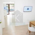 Monteurzimmer-Sinsheim-K3_EG_Kueche mit Zimmereingang