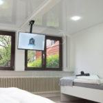 Monteurzimmer-Sinsheim-K3_EG_Zimmer3 mit Smart-TV
